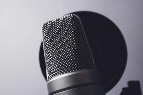 chrome close-up mic
