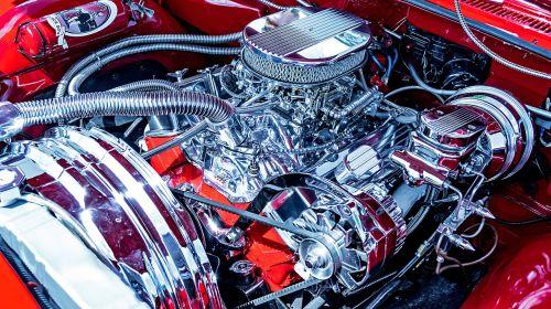chrome motor shiny