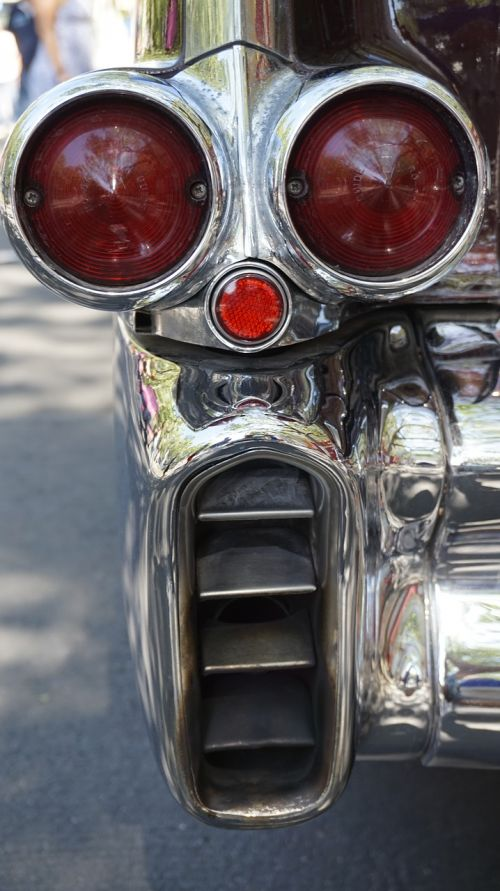 chrome taillights exhaust