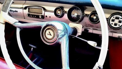 chrysler classic car vintage car