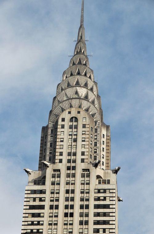 chrysler building new york skyscraper