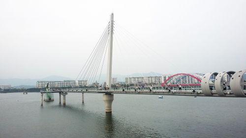 chuncheon skywalk landscape