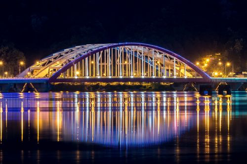 chuncheon landscape night view