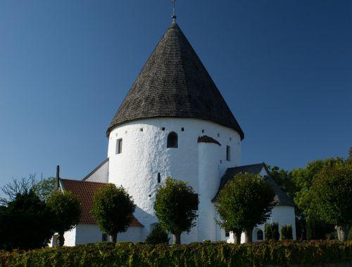 church round church white