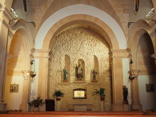 church ermita sant honorat monastery