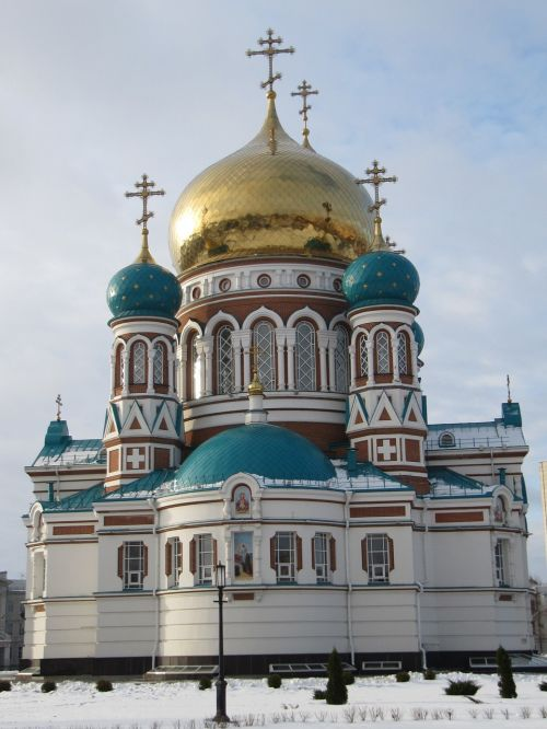 church omsk russia