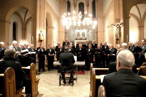 church choir singer