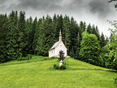 church landscape nature