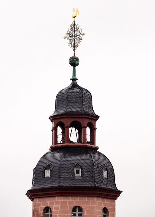 church tower weather vane