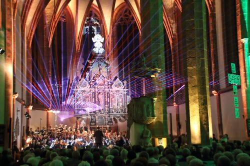 church concert laser