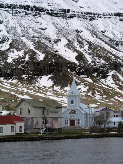 church iceland karg