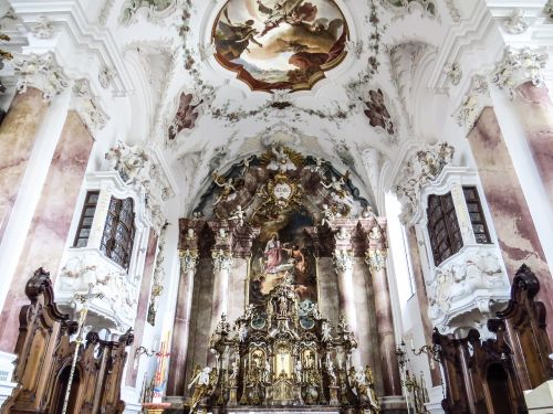 church nesselwang inside