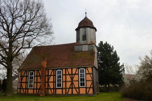 church timber framed building pray