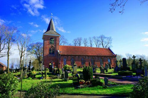 church cemetery crosses