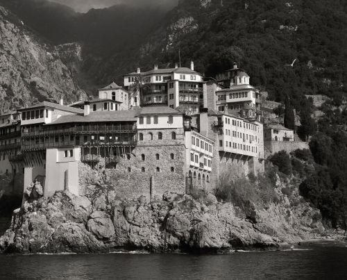 athos mountain greece orthodox