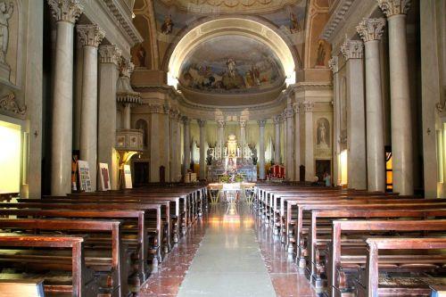 church interior church pews
