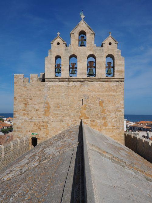 church church roof bell tower