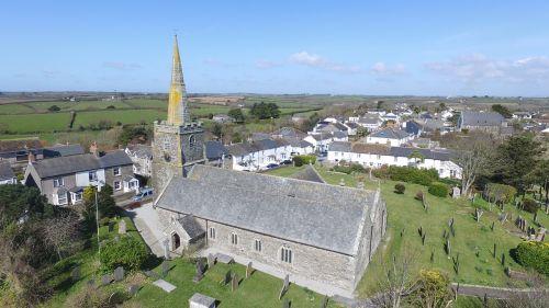 church spire cornwall