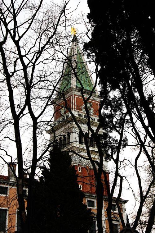 church venice campanile