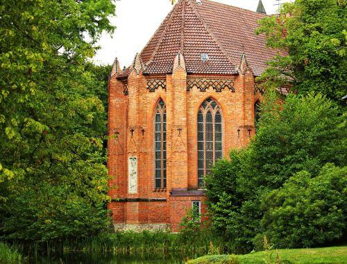 church brick building