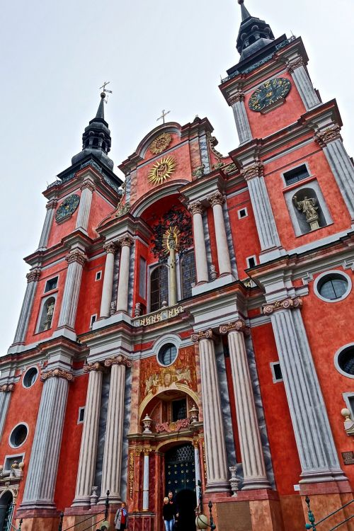 church spires entrance