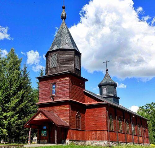 church wooden chapel