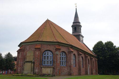 church east frisia village