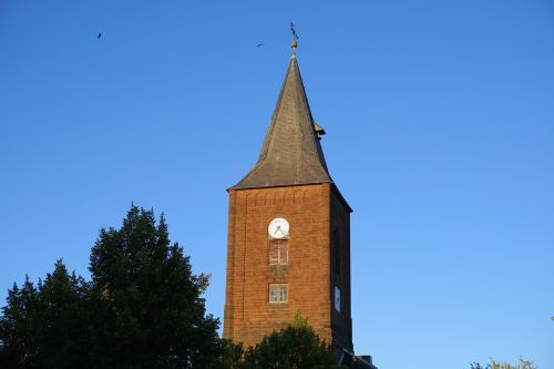 church tower building