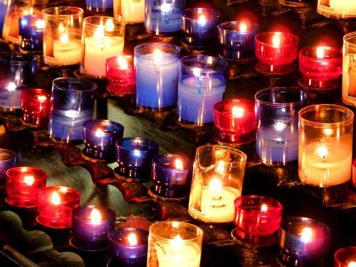 church beds candles