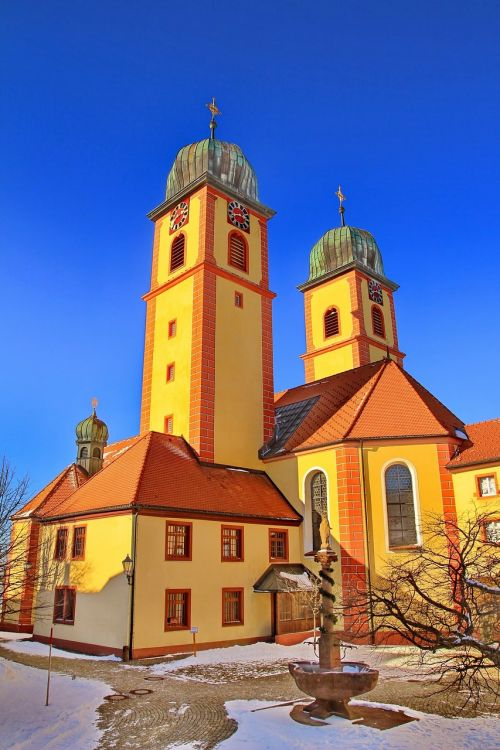 church steeple monastery