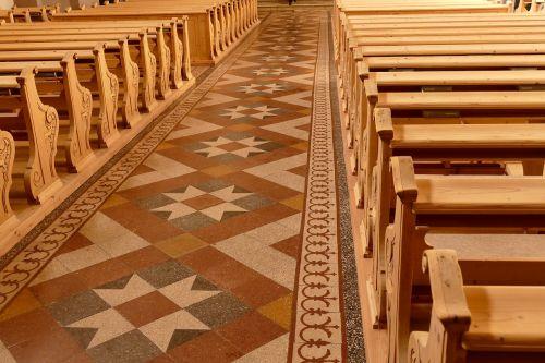 church benches church pews