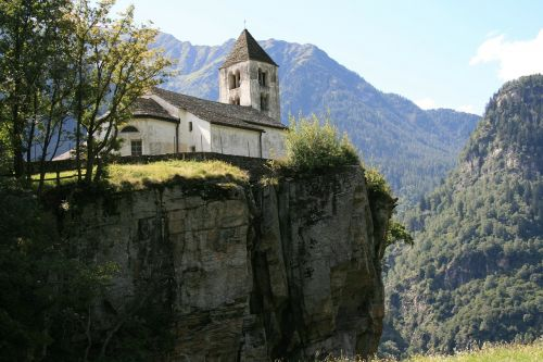 church abyss ticino
