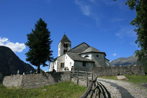 church cemetery ticino