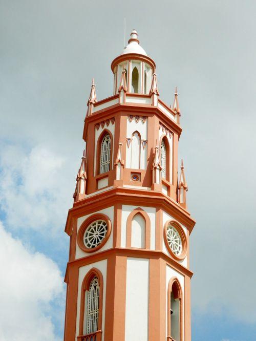 church santos illuminated