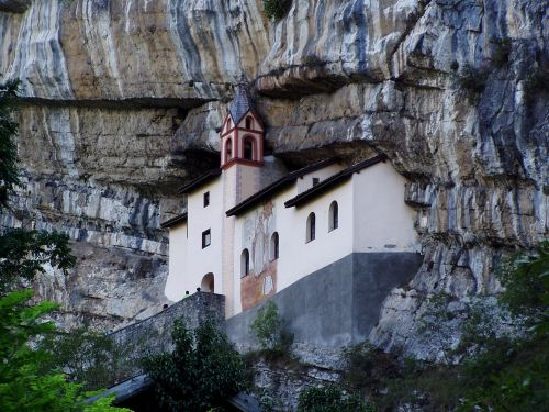 church sanctuary mountain