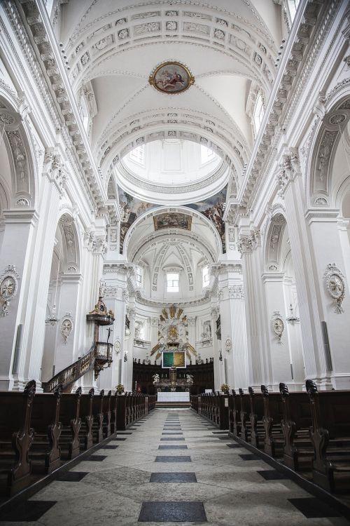 church religion aisle