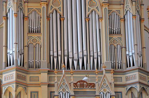 church organ metal