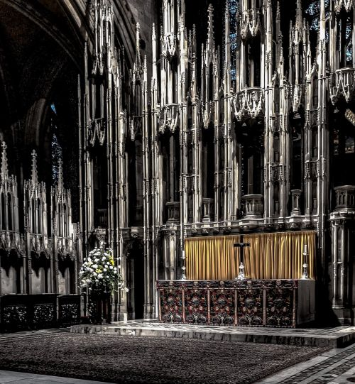 church altar religion