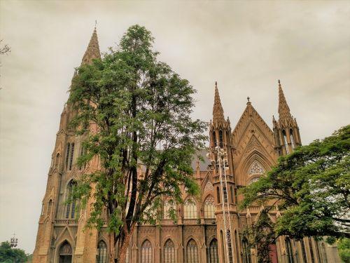 church st philomena's cathedral mysore