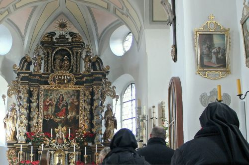 church house of prayer altar