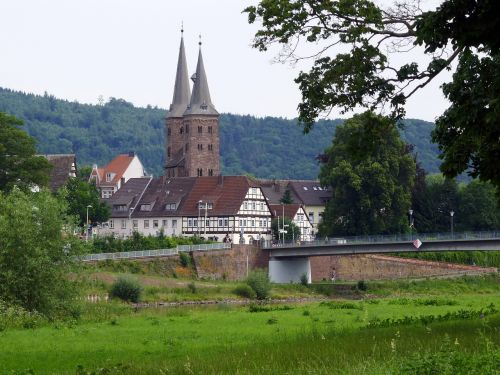 church old town höxter
