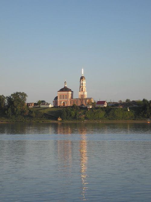 church river beach