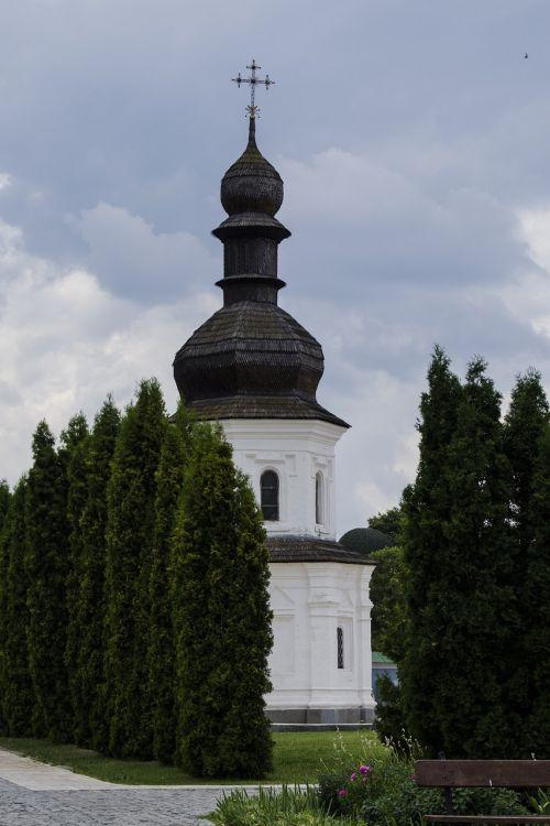 church dome cross