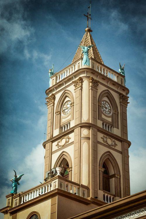 church tower city