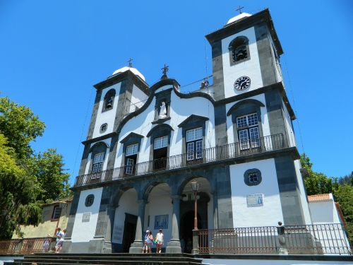 church building madeira