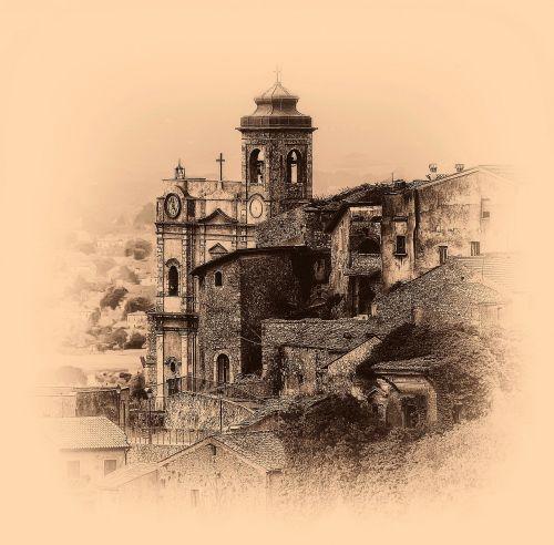 church ancient lazio