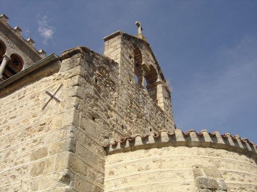church campanile village