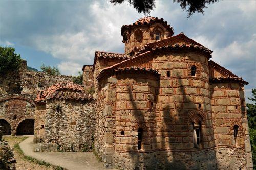 church byzantine ruined city