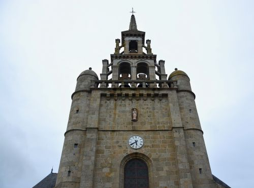 church bell tower lézardrieux