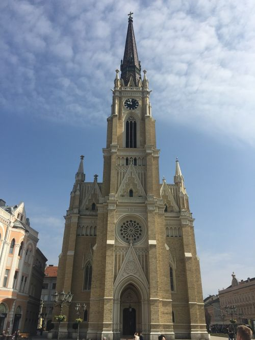 church serbia gothic architecture